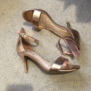 Lulus Rose Gold Heels